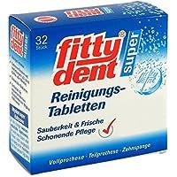 Fittydent super Reinigungstabletten, 32 St preisvergleich bei billige-tabletten.eu