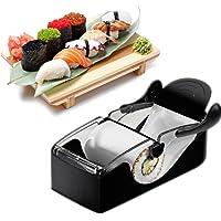 Xrten Sushi Rouleau, Sushi Maker Roller Parfait Rouleau pour Faire Roll-sushi, Noir