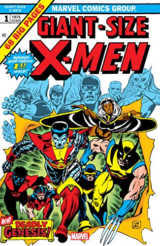 Giant-Size X-Men (1975) #1: Facsimile Edition (Uncanny X-Men (1963-2011)) (English Edition) (Giant X-men)