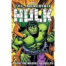 Hulk: From The Marvel UK Vaults