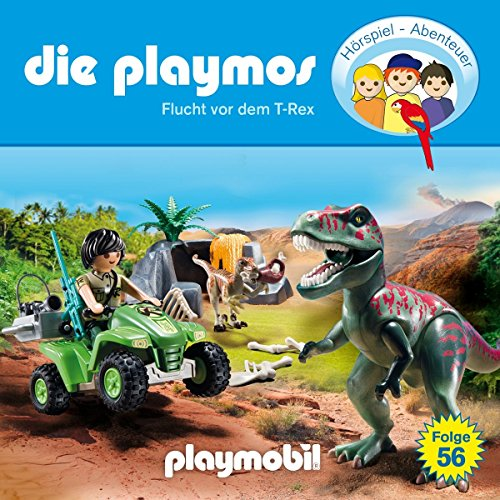 Playmos (56) Flucht vor dem T-Rex - floff publishing 2017