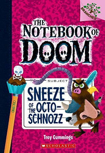 NOTEBOOK OF DOOM #11 SNEEZE OF por Troy Cummings