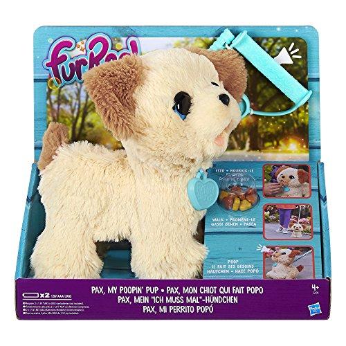 Preisvergleich Produktbild Hasbro C2178EU4 - FurReal Friends Pax mein ich-muss-mal-Hündchen elektronisches Haustier