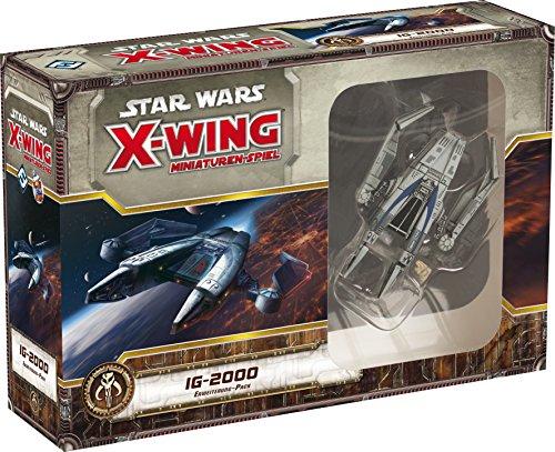 Asmodee HEI0426 - Star Wars X-Wing - IG-2000 Erweiterungs Pack