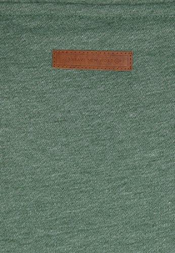 Naketano Male Hoody Supapimmel Pine Green Melange