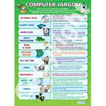 Jerga informática    Tabla de Poster educativos tic/LAMINADO pared papel (A1 850 mm x 594 mm)