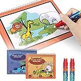 TUMAMA 2 Pezzi Giocattoli per Bambino 3 Anni 4 Anni Acqua Libro da colorare Magico