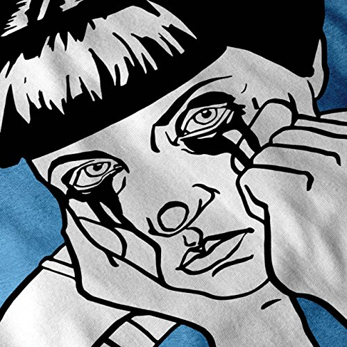 Traurig Mädchen Cool Seltsam Komisch Damen Schwarz S2XL Tshirt ...