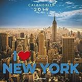 Calendrier mural I love New York 2019