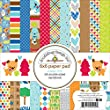 Doodlebug Double-Sided Paper Pad 6-Inch x 6-Inch 2, multicolour