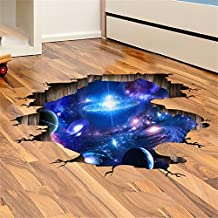 Adornos navideños para Halloween 3D / pegar pegatinas (la Via Lactea, universo) creativo / Stereo / Piso / techo en yeso pasta / sala de estar / dormitorio / Mural (113 * 58cm)