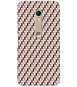 PrintDhaba Pattern D-5922 Back Case Cover for MOTOROLA MOTO X STYLE (Multi-Coloured)