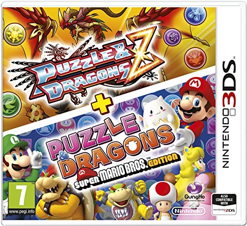 Puzzle & Dragons Z + Puzzle and Dragons Super Mario Bros edition [import anglais]