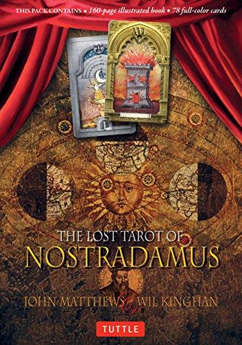 The Lost Tarot of Nostradamus Kit por John Matthews