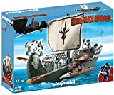 Playmobil 9244 DreamWorks Dragons Floating Drago\'s Ship with Firing Cannons