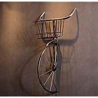 QBDS Décoration de pendaison de vélo en fer forgé vintage américain Pendentif décoratif (Couleur : A)