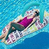LLN Slipper Floating Row Strand Aufblasbare Wassermatratze Bett Floß Pool Float Matratze Spielzeug Schwimmende
