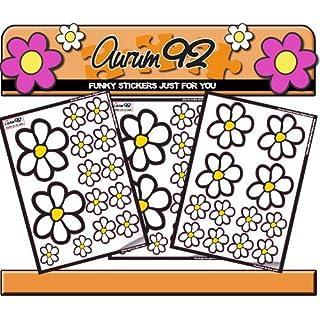 Aurum92 Classic Daisy Stickers x40