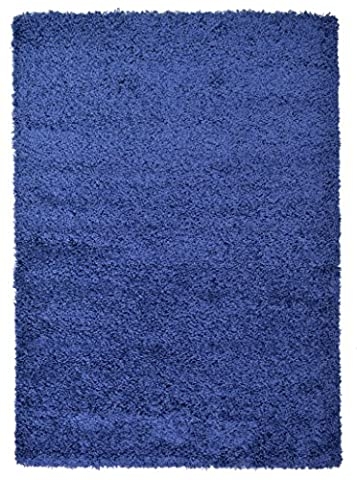 Large 5cm Thick Shag Pile Soft Shaggy Area Rugs Modern Carpet Living Room Bedroom Mats (120x170cm (4'x5'6