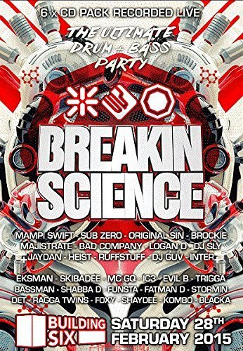 THE ULTIMATE DRUM & BASS PARTY 2015 by BREAKIN SCIENCE