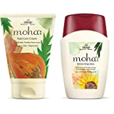 moha: Foot Care Cream 100 gm with free Moisturizing Lotion 100 ml (Combo of 2)
