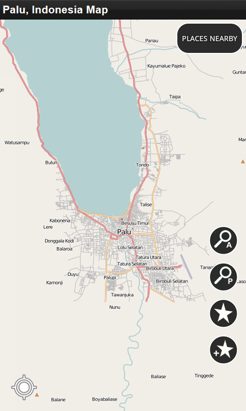 Palu, Indonesia - Offline Map: Amazon.co.uk: Appstore for