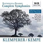 Otto Klemperer & Rudolf Kempe conduct the Complete Symphonies of Beethoven & Brahms