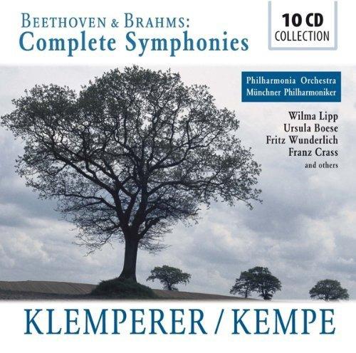 Otto Klemperer & Rudolf Kempe dirigieren die kompletten Symphonien von Beethoven & Brahms