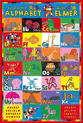 empire-poster-elmer-alphabet-accessoires-cadre-plastique-rouge