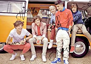 One Direction Signed Autographed Print Photo (A4 Sized)