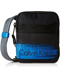 Calvin Klein Cooper Mini Flat Crossover - Bolso para mujer