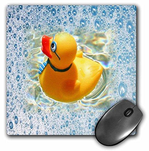 3drose Motiv Adorable Rubber Duckie in einem Schaumbad–Maus Pad, 8von 20,3cm (MP _ 80472_ 1) (Rosen Schaumbad)