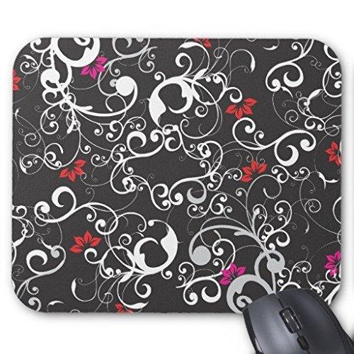 Gaming Maus Pad komplizierte Elegante flo-real Rechteck Office Mousepad 22,9x 17,8cm