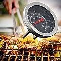 Cuigu Thermometer für Grill, Thermometer Temp Gauge im Freien Grill Camping Lebensmittel Werkzeug