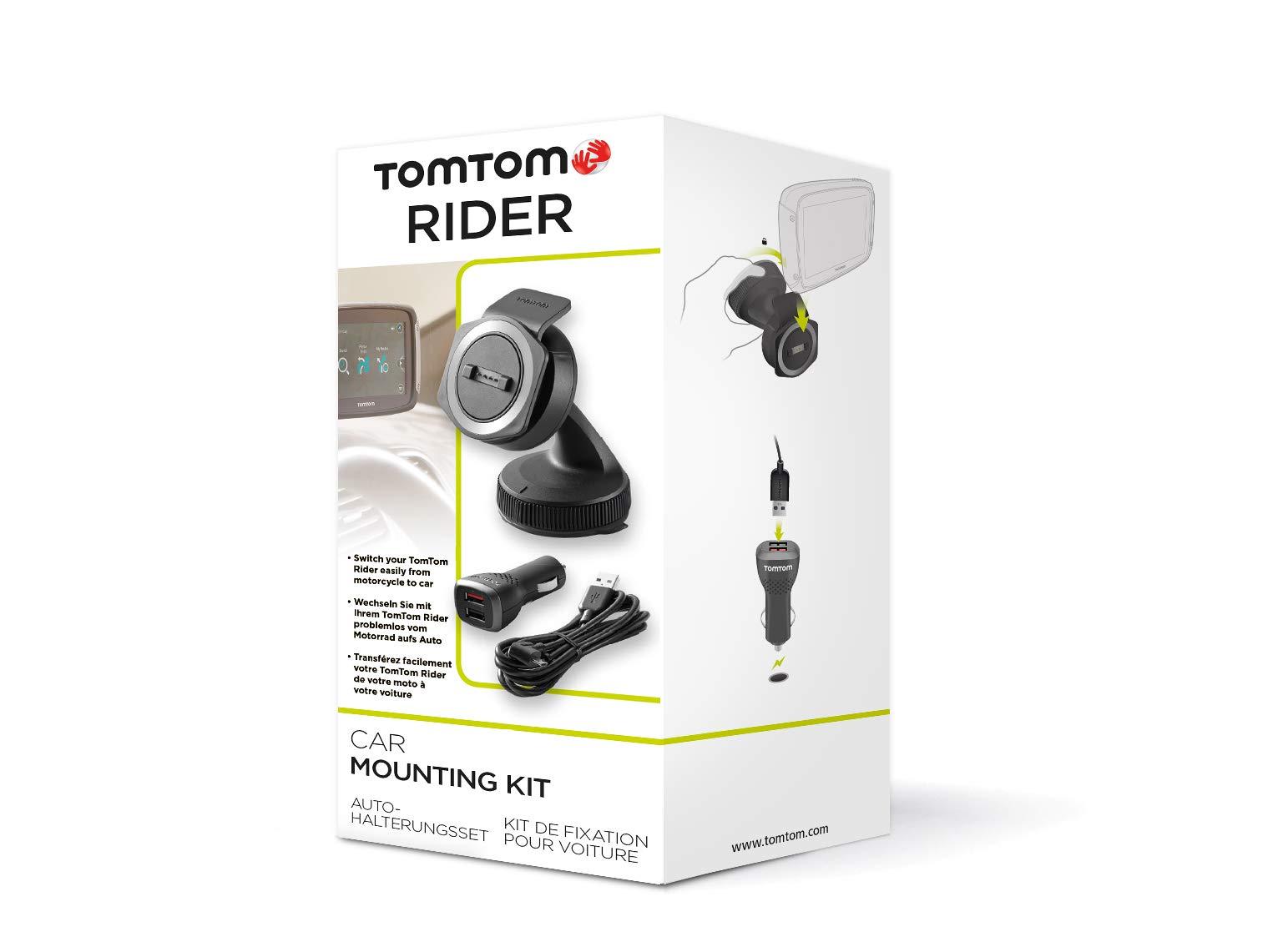 TomTom-Autohalterungsset-fr-Motorrad-Navigationsgert-Rider