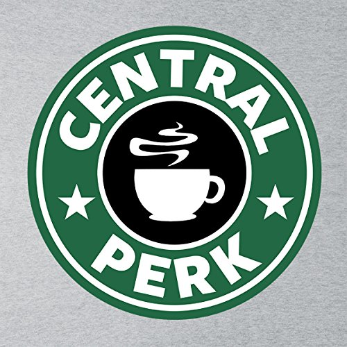 Friends Central Perk Starbucks Logo Men's Vest Heather Grey
