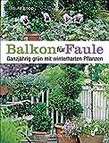 Balkon für Faule: Ganzjährig grün mit winterharten Pflanzen - pflegeleicht und dauerhaft pflanzen und genießen