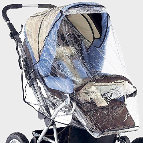 SUNNYBABY Universal Regenschutz mit Schutzklappe für Kinderwagen, Buggy