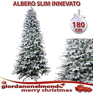 linea marti Línea Mujeres árbol de Navidad Slim para Ahorrar Espacio nevado Falso Pino para Adornos de Navidad