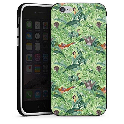 Apple iPhone X Silikon Hülle Case Schutzhülle Dschungelbuch Muster Disney Silikon Case schwarz / weiß