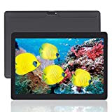 Yuntab K107 Android 5.1 10.1 Inch Tablet PC with SIM card 800*1280 IPS MT6580 Quad Core Bluetooth 4.0 Dual Camera 0.3 and 2.0 MP 1G+16G Tablet (Black)