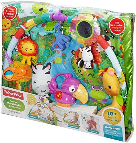 Fisher price dfp08 tapis de la jungle le paradis des b b s - Fisher price tapis eveil jungle ...