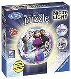 Ravensburger–12190–Disney Frozen 3D-Puzzle-Nachtlich