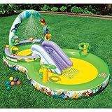 Intex 57451NP - WTP Playcenter mit Bällen und Ringen, 297 x 193 x 135 cm