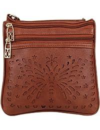 Aadhunik Libaas Trendy Stylish Butterfly Cut Work Small Sling Bags, Crossbody Bag, Shoulder Bag (Handbag) For...
