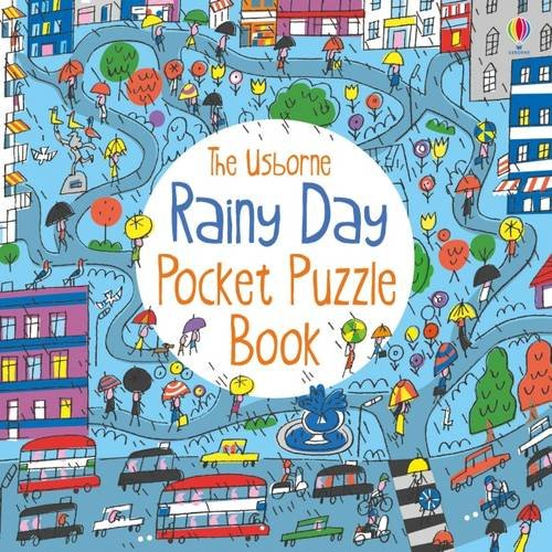 Rainy Day Pocket Puzzle Book (Usborne Activities)
