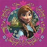 Disney Frozen 16 Stk Servietten - Disney Eiskönigin - Papierservietten