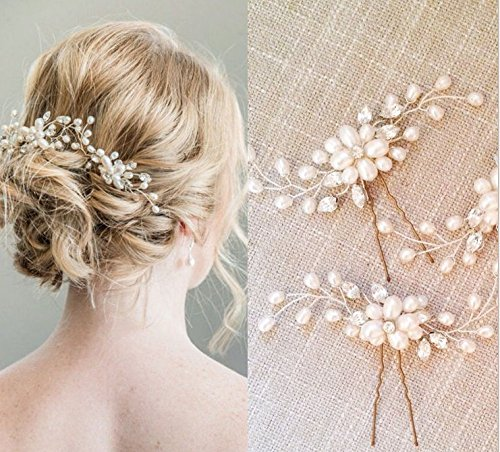 Bridal Hair Pins - 3pcs Fashion ...