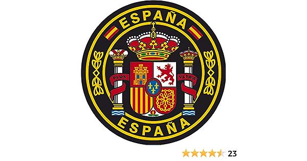 Artimagen Aufkleber Kreis Spanien Ø 70 Mm Auto