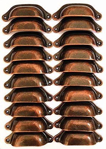 Metall Schublade Knöpfe zieht Griffe-Vintage Küche Schränke Möbel Kleiderschrank Medizin Pull Griff ()